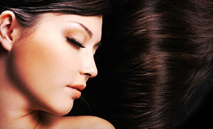 Haircut and Keratin Complex Intense Rx Smoothing Treatment (a $90 value) - Escape Luxury Salon & Day Spa in Oxnard