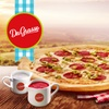 Pizza 42 cm, sosy i napój