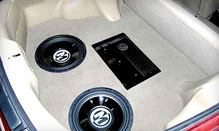 Xclusive Autosound - Belleville: $35 for $75 Worth of Car Stereo Products and Services at Xclusive Autosound in Belleville