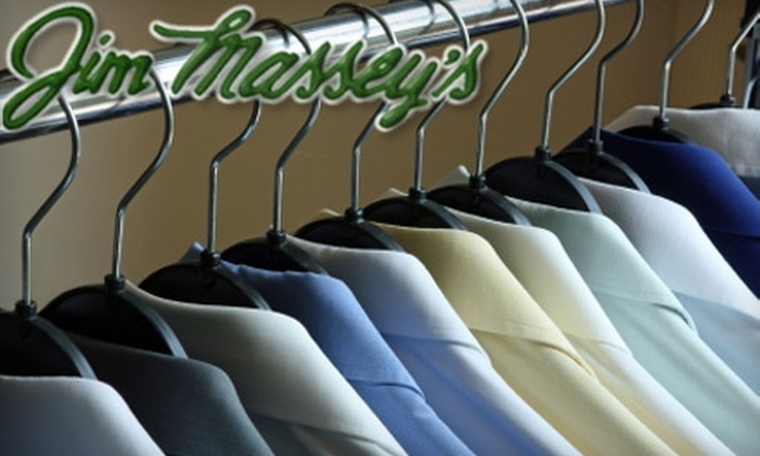Jim Massey's Cleaners - Multiple Locations: $10 for $20 Worth of Dry Cleaning from Jim Massey's Cleaners