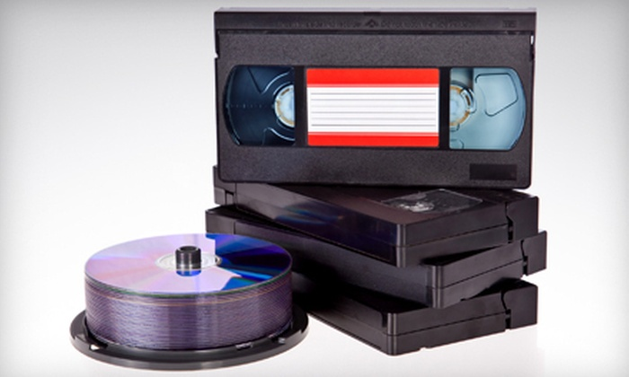 Delp Video Services - Oak Park: One, Two, or Five Videotape-to-DVD Conversions from Delp Video Services in Jeffersonville (Up to 61% Off)