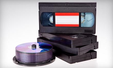 1 Videotape-to-DVD Conversion (a $20 value) - Delp Video Services in Jeffersonville