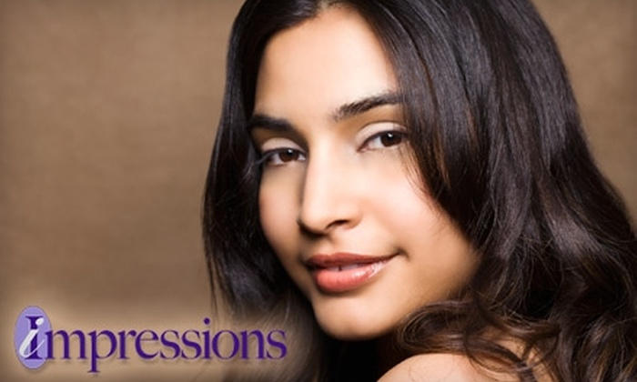 Impressions by Trena - Northwest Leon: $40 for an Express Facial and a Mani-Pedi ($89 Value) or $20 for a Haircut and Blow-Dry ($40 Value) at Impressions by Trena