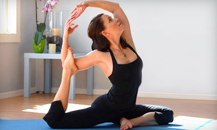 Pure Yoga - Stillwater: 5 or 10 Yoga Classes at Pure Yoga in Stillwater (Up to 53% Off)