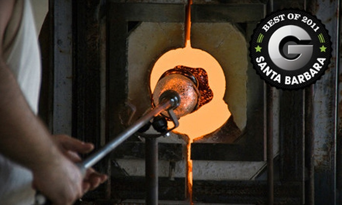 Santa Barbara Art Glass - Santa Barbara Art Glass: $99 for a Two-Hour Glass-Blowing Class and Up to Four DIY Pieces at Santa Barbara Art Glass ($200 Value)