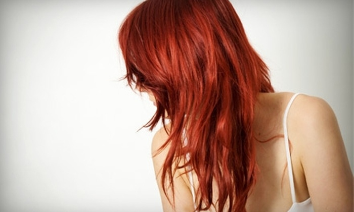 Spice Salon - Clinton: $49 for a Full-Foil Color, Haircut, and Eyebrow Wax at Spice Salon ($127 Value)