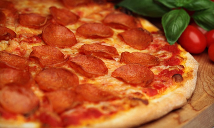 Bacci Pizzeria - Multiple Locations: $16 for a Jumbo Cheese Pizza and a 2-Liter Soda at Bacci Pizzeria