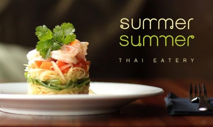 Summer Summer Thai Eatery - Emeryville: $12 for $25 Worth of Thai Cuisine and Drink at Summer Summer Thai Eatery