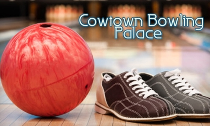 Cowtown Bowling Palace - Fort Worth: $20 for Two Games Plus Shoe Rentals for Up to Four People at Cowtown Bowling Palace (Up to $50 Value)