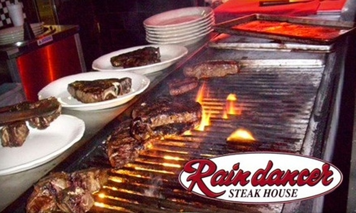 Raindancer Steak House - Palm Beach Lakes South: $25 for $50 Worth of Steak, Seafood, and More at Raindancer Steak House