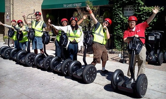 Oak Park Segway Experience - Oak Park: $62 for an Interactive Segway Tour and Art Workshop from Oak Park Segway Experience ($120 Value)