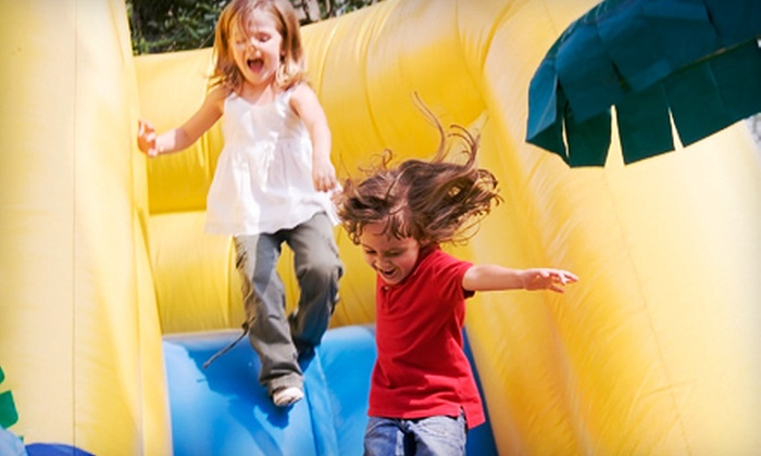 Inflatable World - Mission Valley East: $10 Toward Admission
