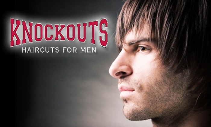 Knockouts Haircuts for Men - Northwest Virginia Beach: $15 for the Heavyweight Haircut ($32 Value) or $45 for a 60-Minute Swedish Massage and the Heavyweight Haircut ($97 Value) at Knockouts Haircuts for Men. Choose Between Two Locations.