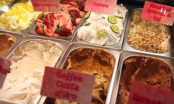Yogoo à la Mode - Rancho Cucamonga: $7 for $14 Worth of Frozen Yogurt, Gelato, and Sweets at Yogoo à la Mode in Rancho Cucamonga