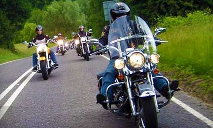 EagleRider - Pacific Ridge: $99 for an All-Day Motorcycle-Rental Package from EagleRider in Des Moines (Up to $199 Value)