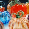 Up to Half Off Glass-Blown Pumpkin Patch Ball
