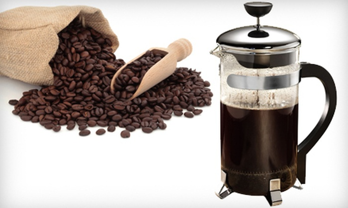 Classic French Press: $14 for a Primula Classic 8-Cup Coffee Press ($29.99 Value)