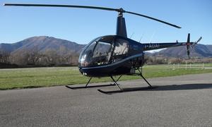 Helispin: Corso di elicottero con volo di 30 minuti e pranzo per una o 2 persone alla scuola Helispin (sconto fino a 39%)