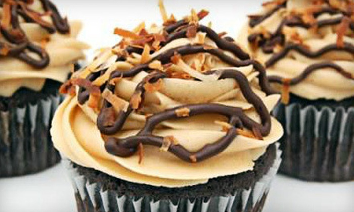 Blue Velvet Cupcakes - Nashville-Davidson metropolitan government (balance): $20 for One Dozen Cupcakes for Delivery from Blue Velvet Cupcakes ($40 Value)