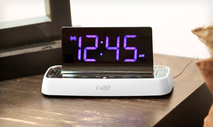 ivee Voice-Controlled Digital Alarm Clocks: ivee Voice-Controlled Digital Alarm Clocks (25% Off). 2 Models Available. Free Shipping and Returns.