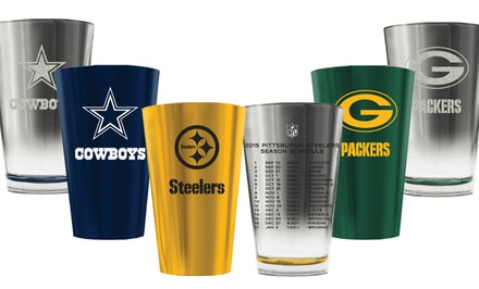 NFL 2015 Schedule Pint Glass (2-Pack)