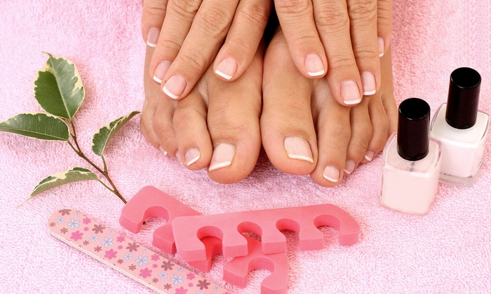 Ruby Nails - Warrington: $22 for a Mani-Pedi with a Mini Spa Treatment at Ruby Nails ($44 Value)