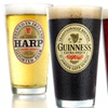 Guinness Zookeeper or Irish Beer Pint Glasses (4-Pack)