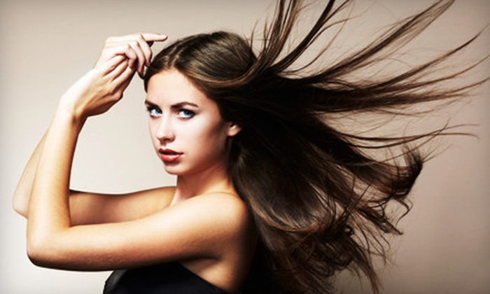 Shear-Lock Combs West - Saint Charles: $109 for a CHI Smoothing Treatment, Haircut, and $15 Worth of Products at Shear-Lock Combs West in St. Peters ($242 Value)