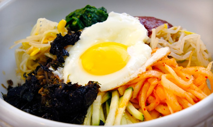 Axian Food Factory - Dupont Circle: $12 for Asian-American Lunch for Two at Axian Food Factory (Up to $26.74 Value)