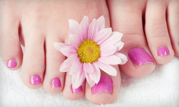 KandyBar Spa - Greenbelt: Pedicures for Two, Pedicure and Facial Package, or Pedicure Party at KandyBar Spa in Orleans (Up to 51% Off)