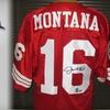55% Off Joe Montana–Signed 49ers Jersey