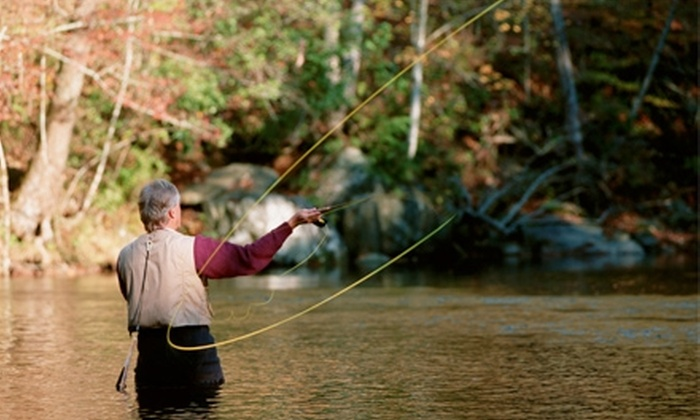 River Through Atlanta - Roswell: $55 for a Three-Hour Introduction to Fly-Fishing Lesson from River Through Atlanta in Roswell ($175 Value)