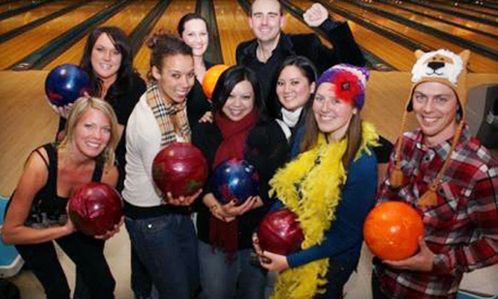 Valley Center Bowl and Monterey Lanes - Multiple Locations: One or Two Hours of Bowling and Shoe Rental for Up to Six at Valley Center Bowl or Monterey Lanes (Up to 65% Off)
