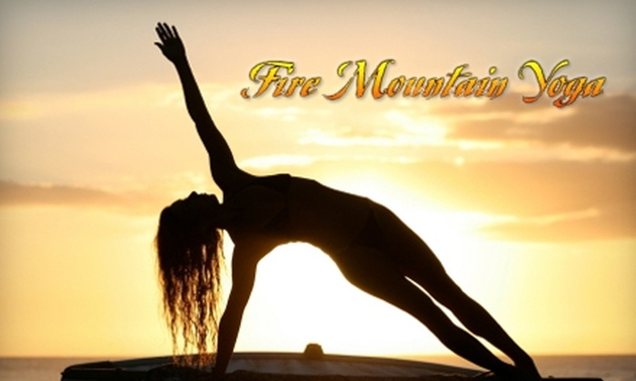 Fire Mountain Yoga - Cascade Park: $20 for 20 Bikram Yoga Classes at Fire Mountain Yoga ($200 Value)