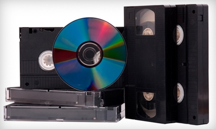 Bandito Video - Multiple Locations: $15 for One Videotape-to-DVD Conversion at Bandito Video ($29.95 Value)