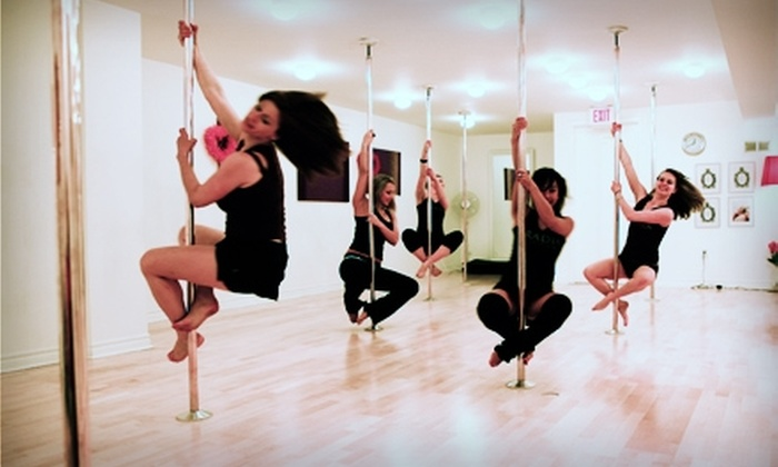 Aradia Fitness Edmonton - Arcola East-North Side: $10 for One 55-Minute Intro to Pole Dancing Class at Aradia Fitness ($25 Value)