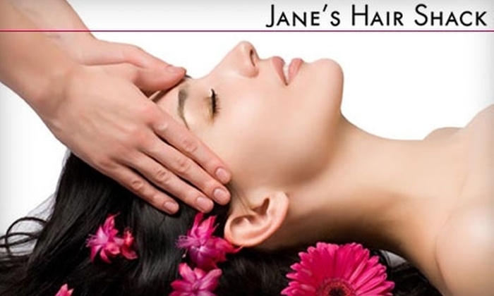 Jane's Hair Shack - Solvay: $15 for a Women's Haircut and Style ($30 value) or $8 for a Men's Haircut ($13 value) at Jane's Hair Shack in Solvay