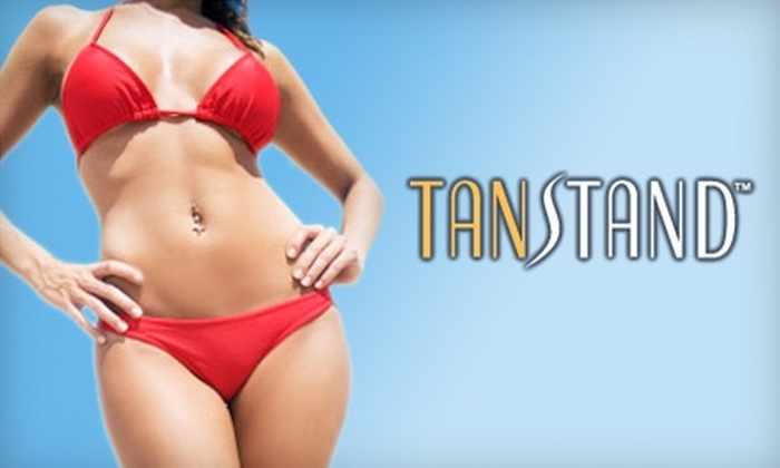 Tan Stand - Multiple Locations: $15 for One Mystic or VersaSpa Tan at Tan Stand ($30 Value)