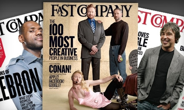 """Fast Company"" Magazine: $5 for 15 Issues of ""Fast Company"" Magazine ($15 Value)"