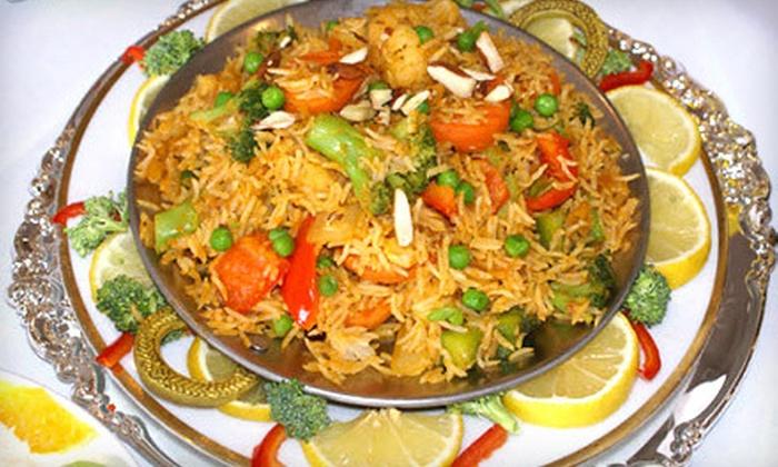 Zaiaka - Plum: $12 for $25 Worth of Indian Cuisine at Zaiaka