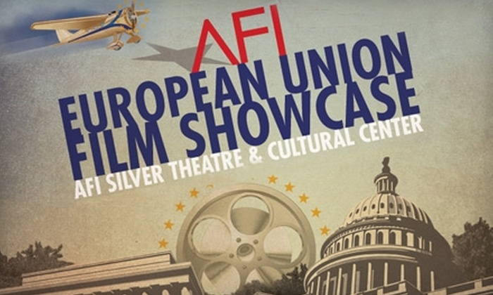 AFI Silver Theatre - Silver Spring: $10 for Two Tickets to a Screening at the AFI European Union Film Showcase at AFI Silver Theatre ($20 Value)