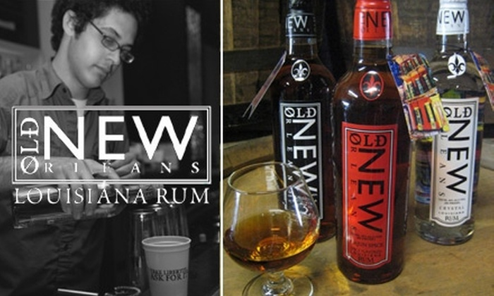 Old New Orleans Rum Distillery  - St. Roch: $5 for a Distillery Tour, Rum Tasting, and Signature Cocktail for Two at Old New Orleans Rum Distillery