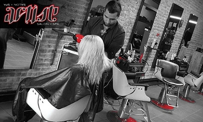 Artist Salon and Spa - Downtown: $25 for $60 Worth of Hair Services at Artist Salon & Spa