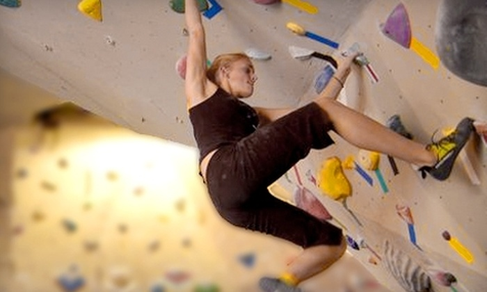 Rock City Climbing - Anaheim Hills: $40 for Two Months of Rock Climbing, Equipment Rental, and One Class at Rock City Climbing in Anaheim Hills (Up to $425 Value)