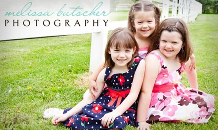 Melissa Butscher Photography - McCandless: $40 for a 30-Minute Photo Session Plus CD with 10 Print-Ready Images from Melissa Butscher Photography ($100 Value)