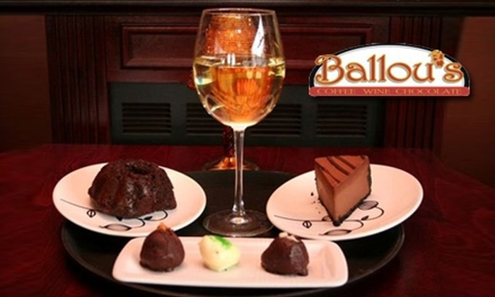 Ballou's Wine Bar - Guilford: $12 for $25 Worth of Light Comfort Fare and Wine at Ballou's Wine Bar in Guilford