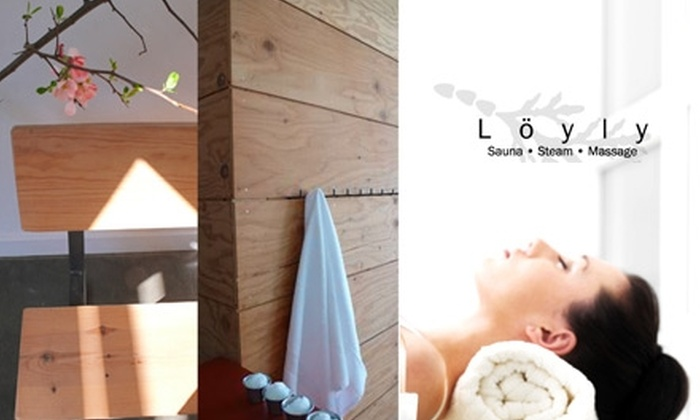 Löyly  - Hosford - Abernethy: $15 for Two Hours in Sauna Plus Towels, Robe, and Use of Facility at Löyly (Up to $36 Value)