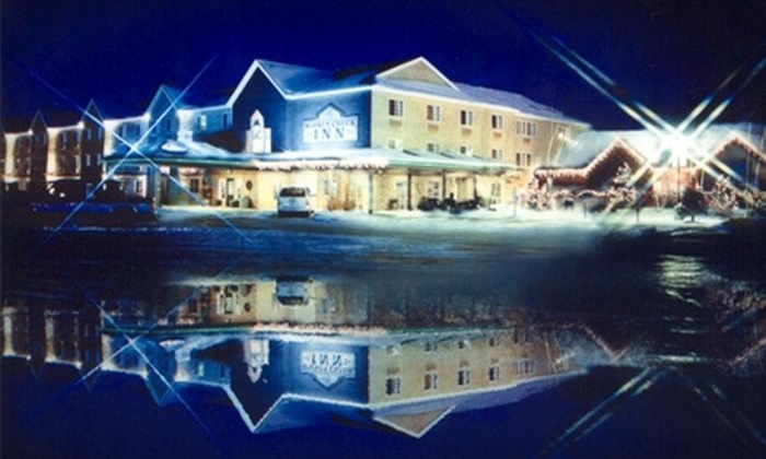 Stoney Creek Inn's Wausau Hotel & Logger's Landing - Rothschild: $164 for a Two-Night Stay at The Stoney Creek Inn's Wausau Hotel Plus Four Water-Park Passes Each Day to Logger's Landing