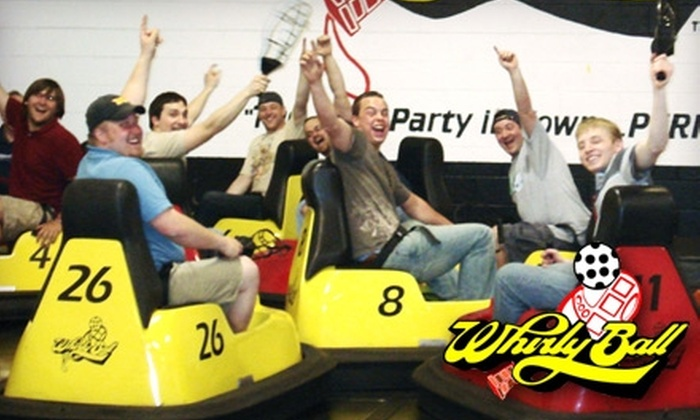 WhirlyBall Detroit - Novi: $55 for 30 Minutes of WhirlyBall for Up to 10 Players at a Time