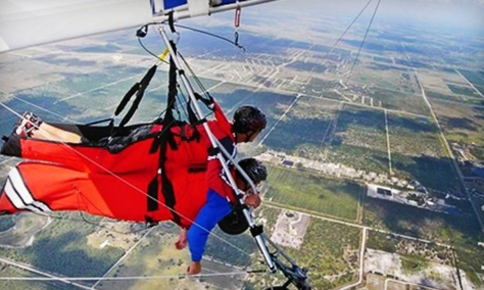 Miami Hang Gliding - Pioneer: $89 for a Tandem Sky Ride from Miami Hang Gliding in Clewiston ($179 Value)